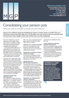 Consolidating Your Pension Pots - November 2016