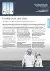 Funding Future Care Costs - July 2017