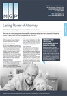 Lasting Power of Attorney - January 2017