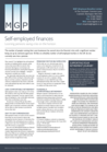 Self-employed finances - November 2018