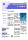 A Guide to..... Auto Enrolment - April 2013